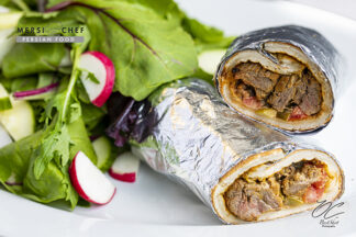 Sandwich Kabob Koobideh